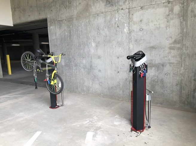 The Ridge Apartments, Bicycle Repair Station